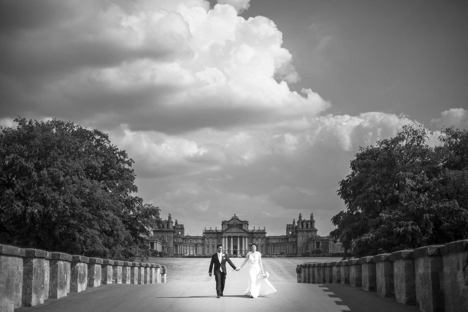 Blenheim Palace Wedding Photographer based in London - Steph and Akash
